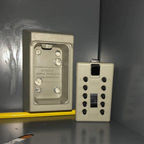 MILKBOX_S5KLEB,Schlüsselbox - Schlüsselbox für milchkasten