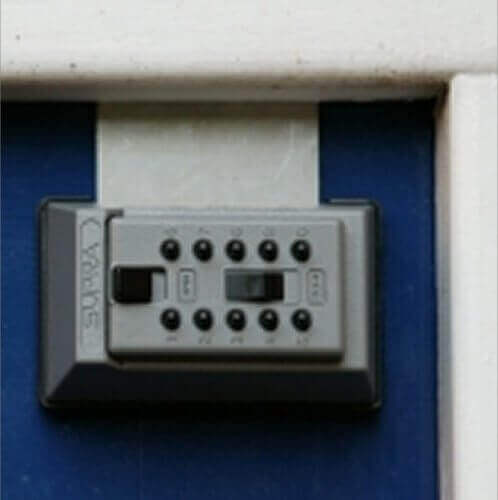 SUPRAJ5 - Schlüsselbox -  Schlüsselbox für Briefkasten