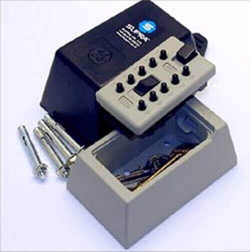 SUPRAS5,Schlüsselbox mit code - Schlüsselbox